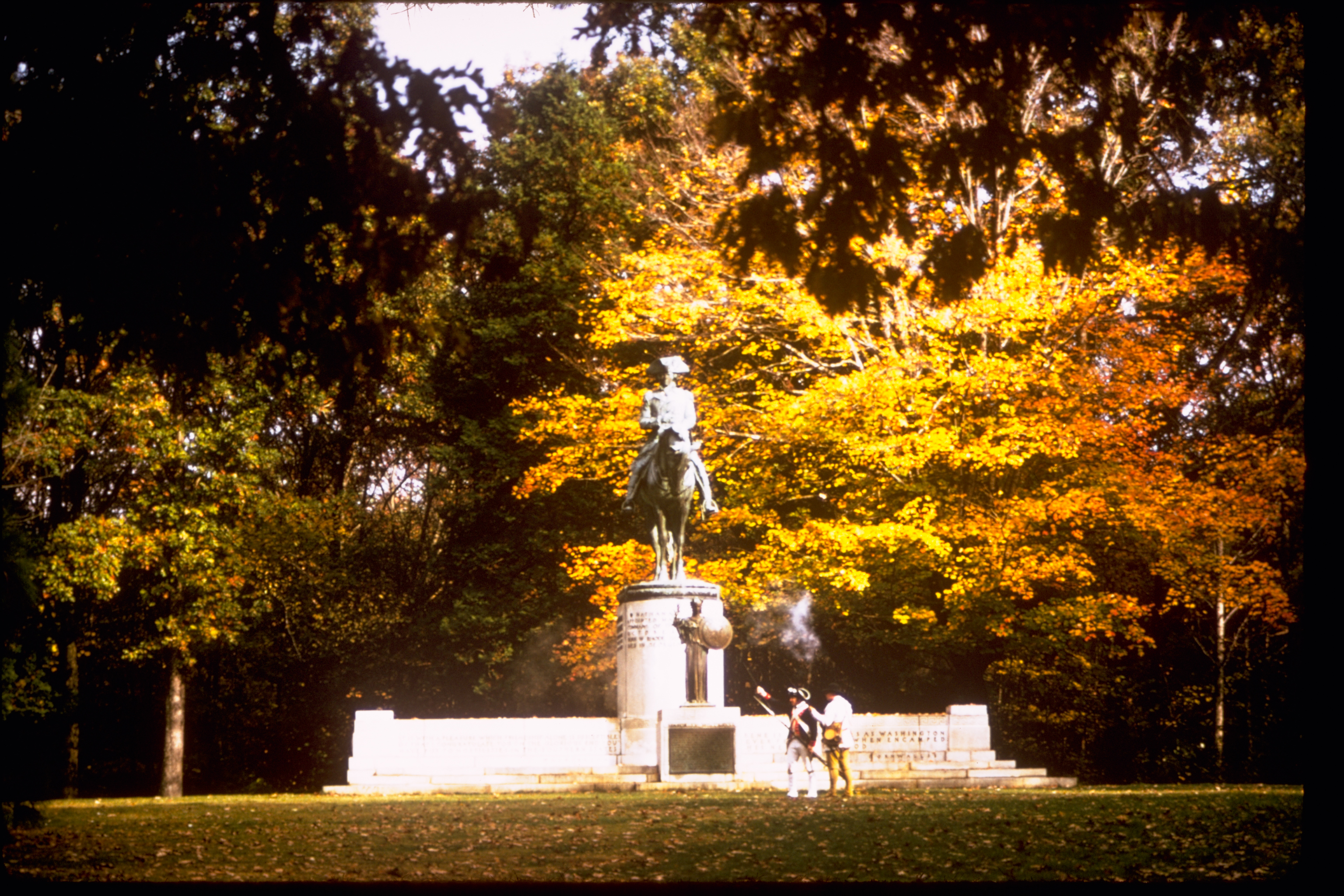 Guilford Courthouse National Military Park Statue