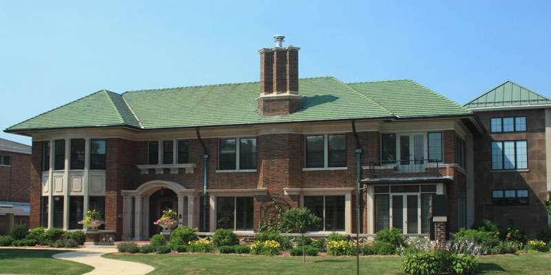 The Woodson History Center houses the administrative offices of the Marathon County Historical Society.