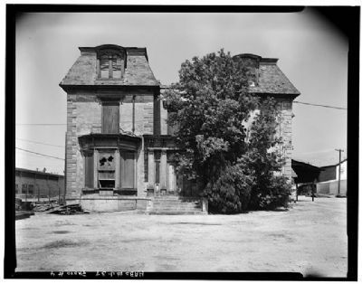 Front view of house in 1967