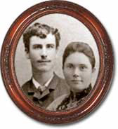 undated photo of Henry and Sariah Wheeler