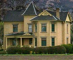 Wheeler home on farmstead as it looks today