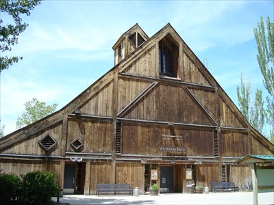Barn at the farmstead
