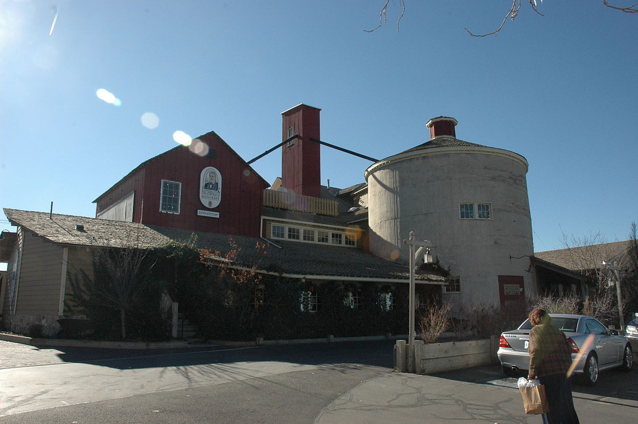 Gardner Mill as it looks today. This photo of the mill only shows a portion of what is now the Gardner Mill Village Shopping Center. More can be seen in the center's official website below.
