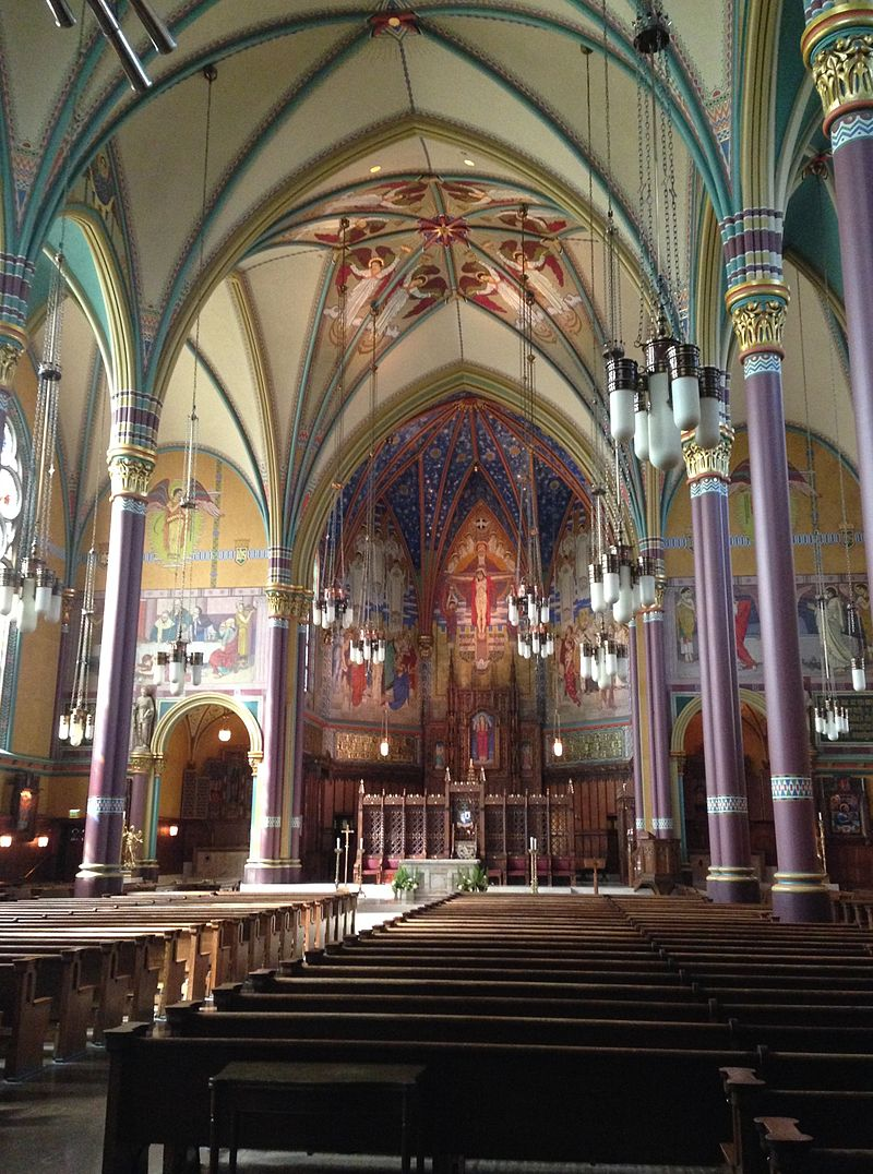Interior of Cathedral today
