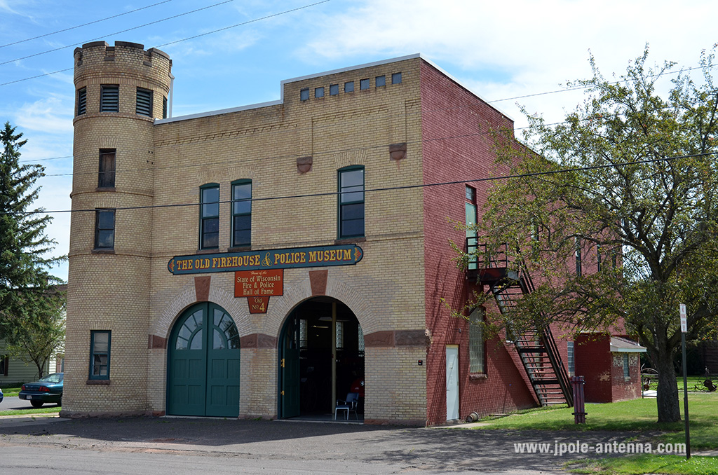 The Old Firehouse and Police Museum. Credit: jpole-antenna.com