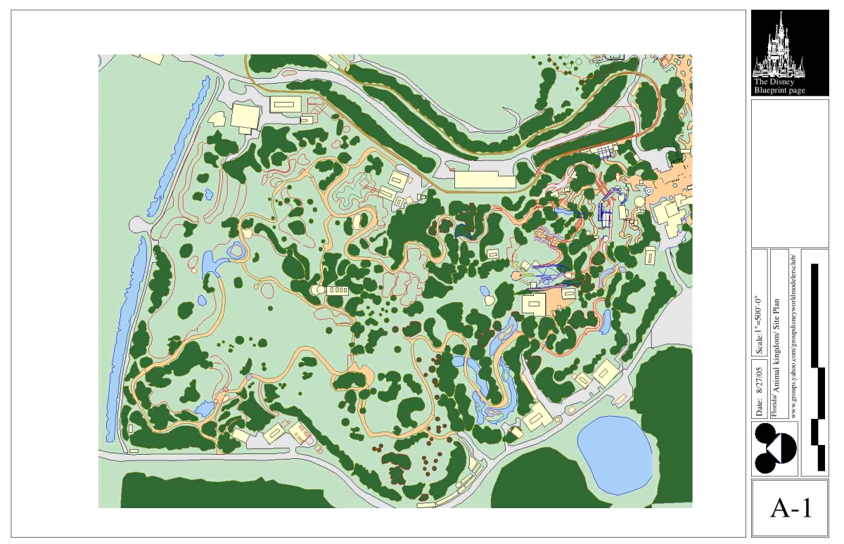 Kilimanjaro Safari Blueprints