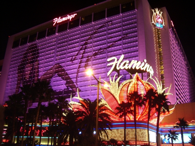 A view of the Flamingo.