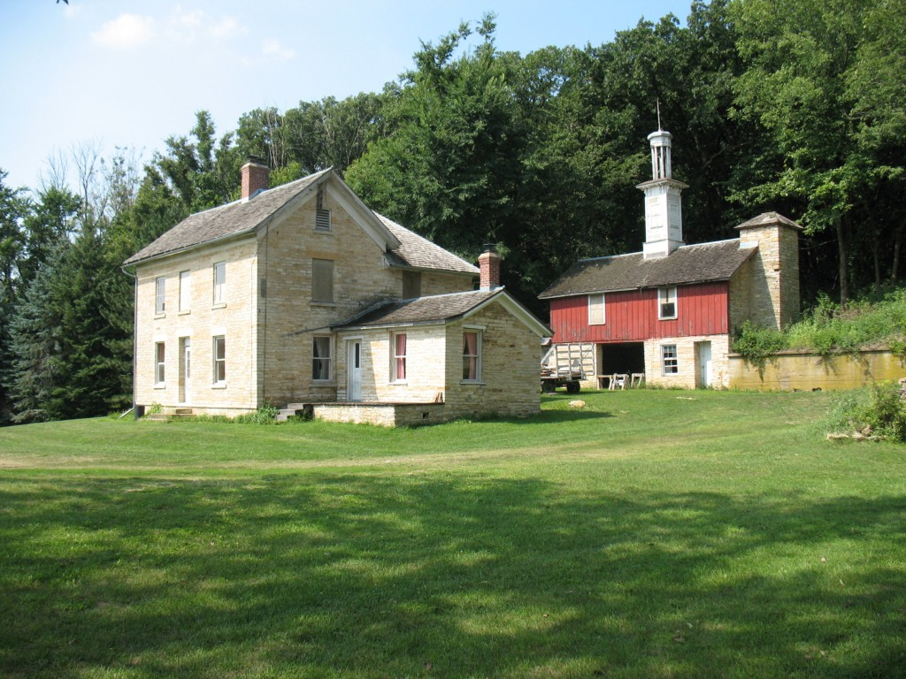 The George Stoppel Farmstead, listed on the National Register of Historic Places
