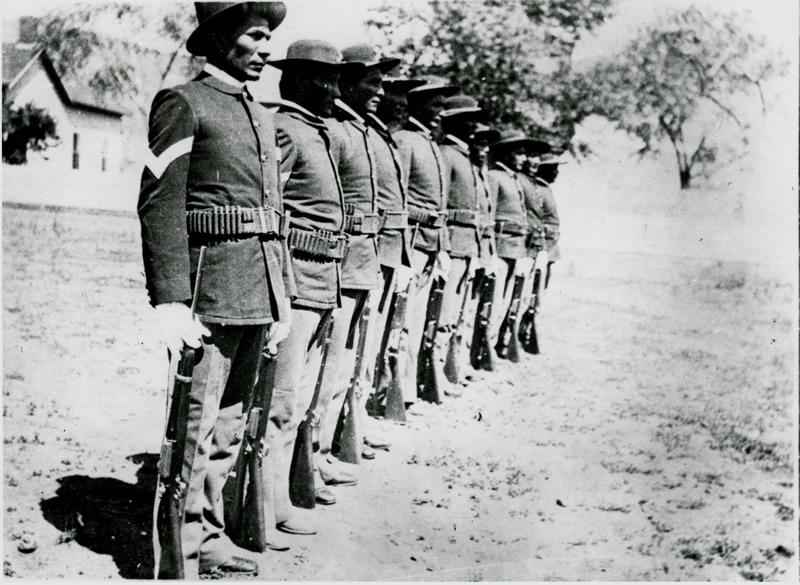 Apache US Army scouts