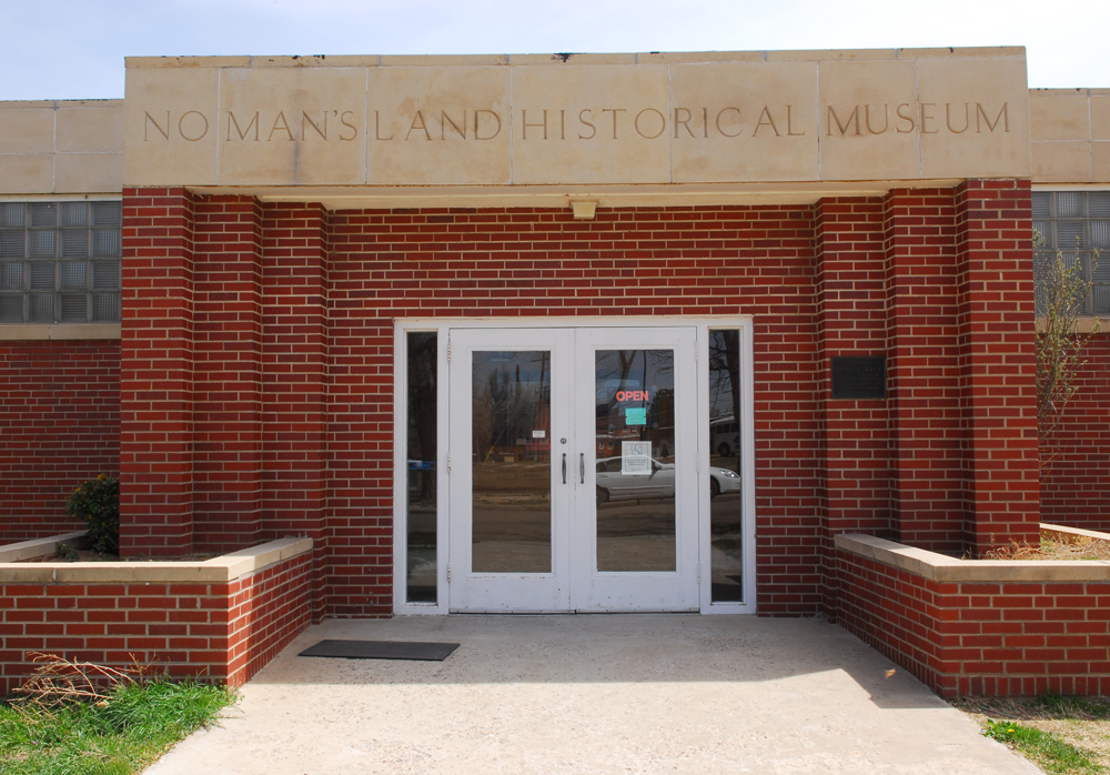 The No Man's Land Museum is a comprehensive museum of the Oklahoma Panhandle and its adjacent regions. It houses both permanent and traveling exhibits.