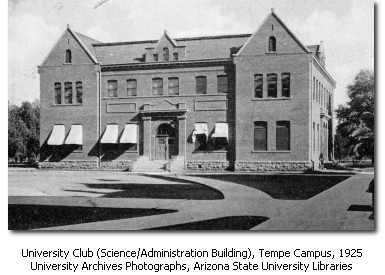 Administration/Science Building in 1925