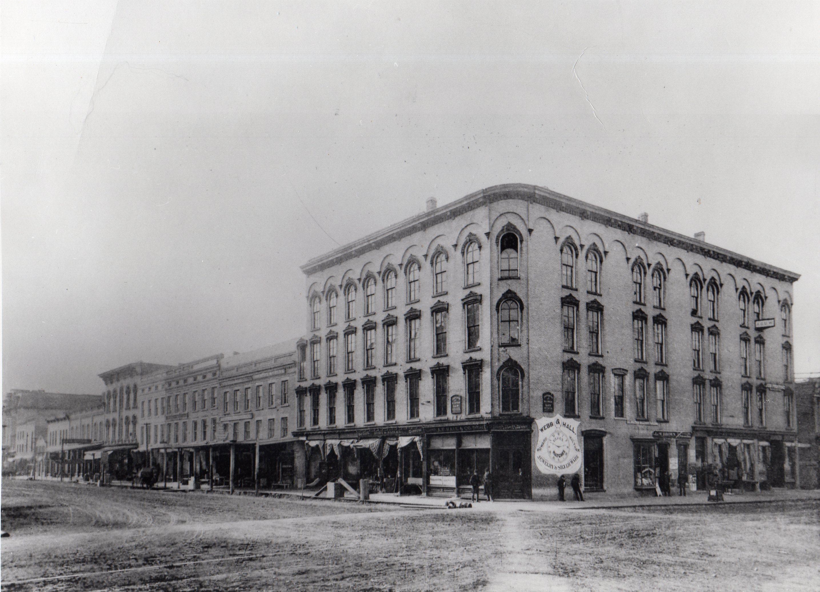 Lappin-Hayes Block c.1892