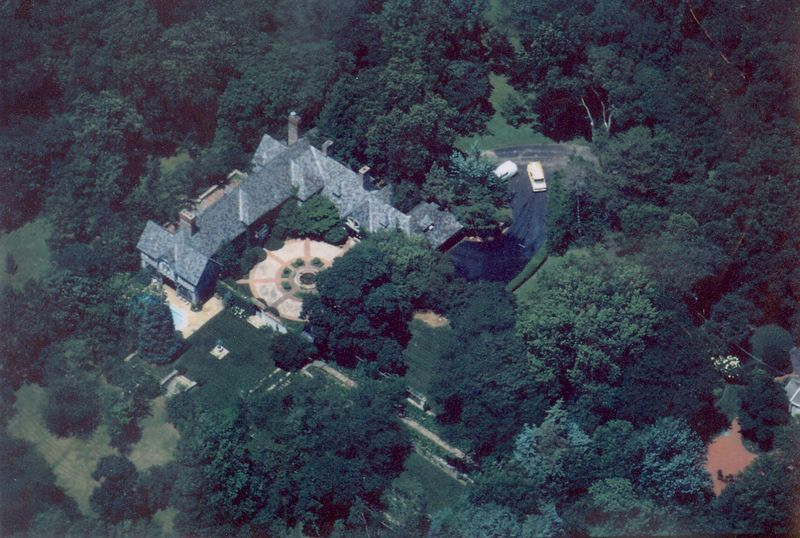 A birds-eye view of the estate