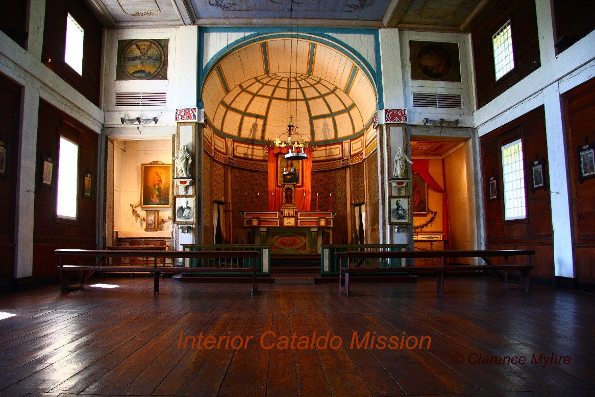Interior of the Mission of the Sacred Heart