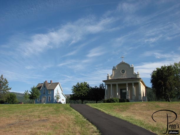 Mission and parish house