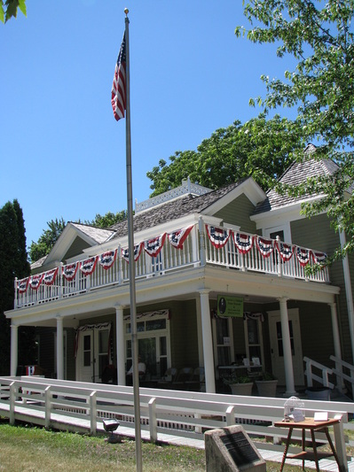 The Andrew John Volstead House, now the home of the Granite Falls Historical Society.