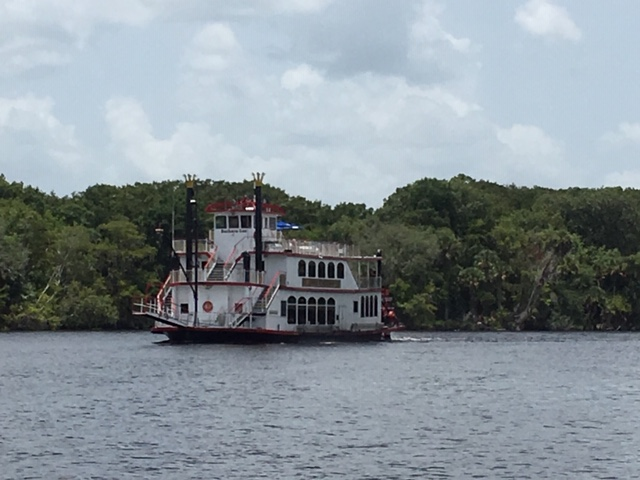 Barbara-Lee viewed from a passing boat
