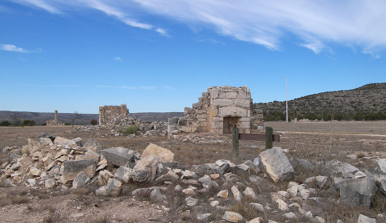 """Fort lancaster ruins 2009"" by Larry D. Moore. Licensed under CC BY-SA 3.0 via Wikimedia Commons - https://commons.wikimedia.org/wiki/File:Fort_lancaster_ruins_2009.jpg#/media/File:Fort_lancaster_ruins_2009.jpg"