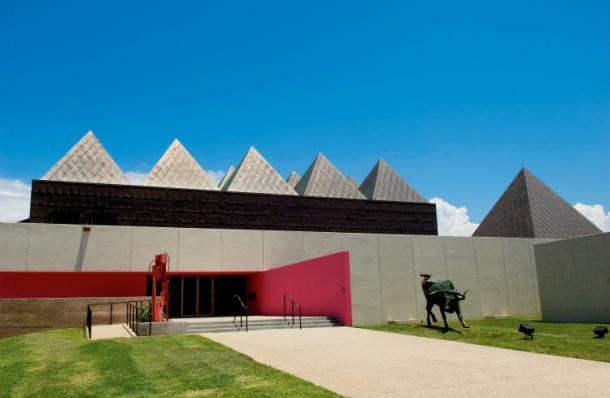 The Art Museum of South Texas opened in this facility in 1972.