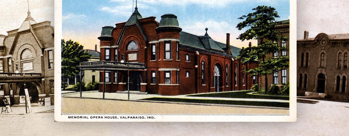 Memorial Opera House—a memorial to Civil War veterans built in 1893.
