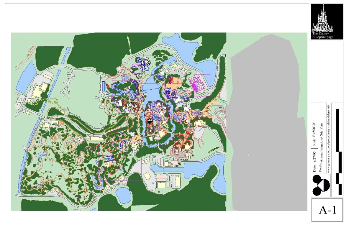 Animal Kingdom Blueprints