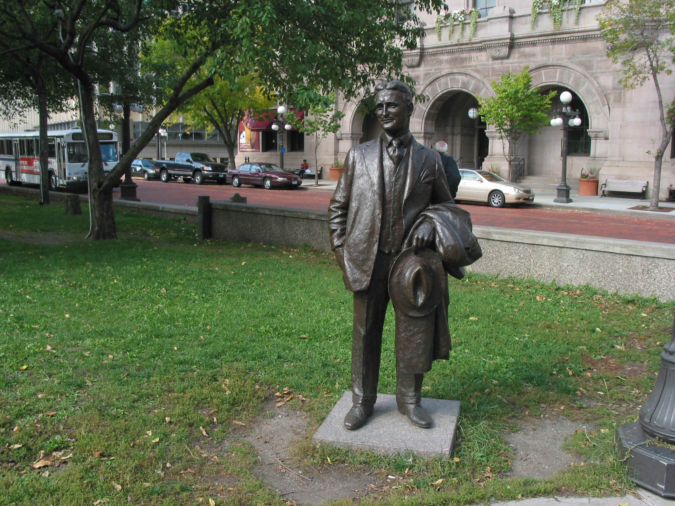 F. Scott Fitzgerald Statue (Photo courtesy of the City of St. Paul)