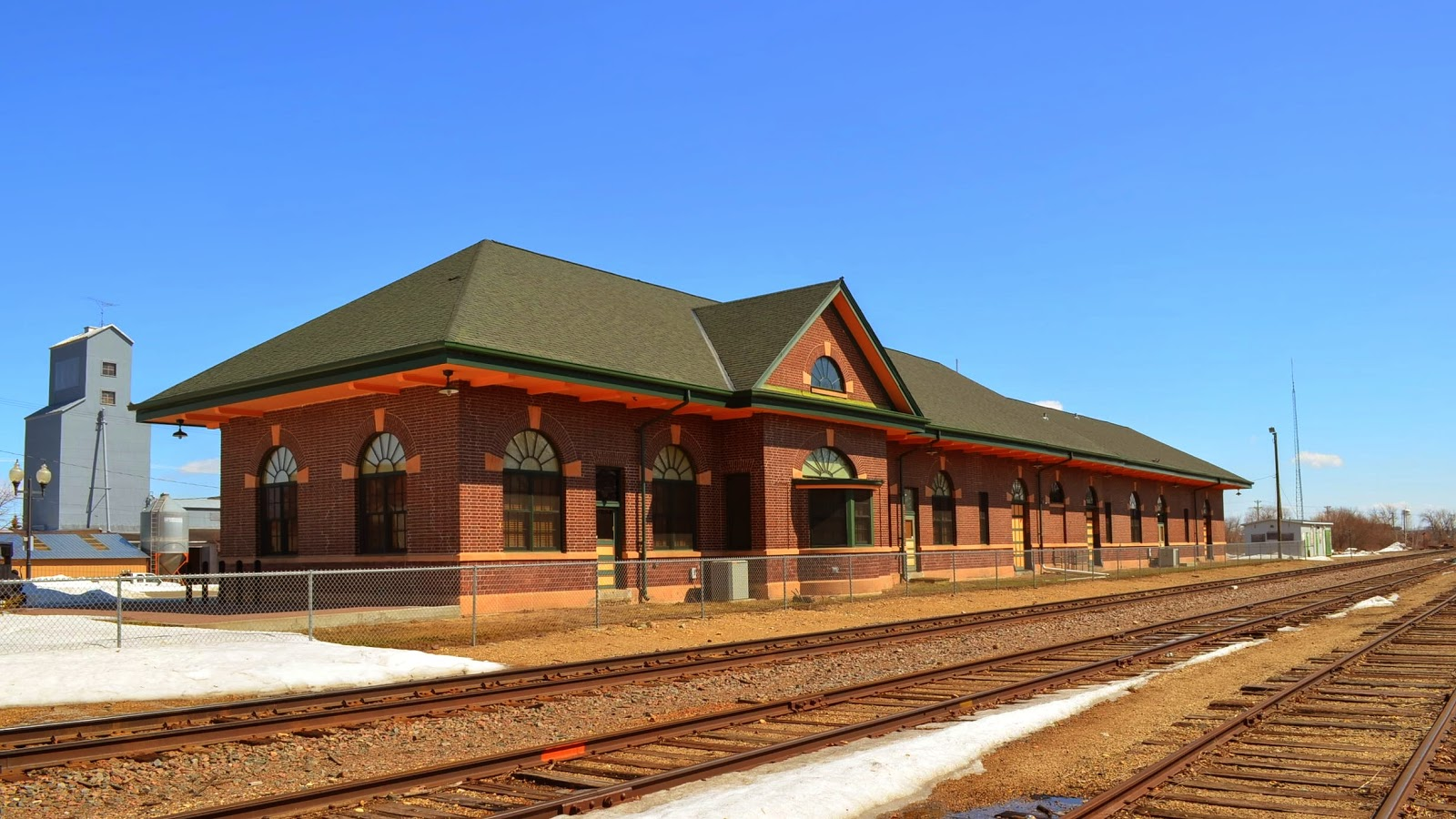 The Great Northern Depot, now the Beltrami County Historical Society.