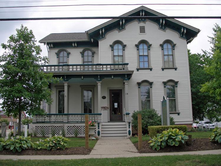Crocker House Historical Museum, 15 Union Street, Mount Clemens, Michigan