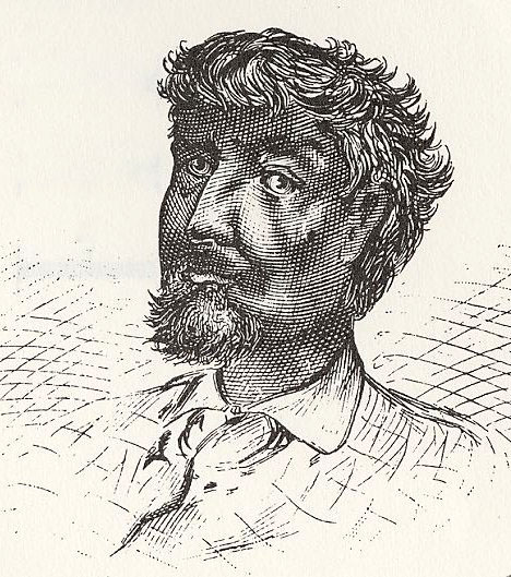 Because no portrait or drawing of DuSable is known to exist, this image of DuSable was created in the late 19th century.