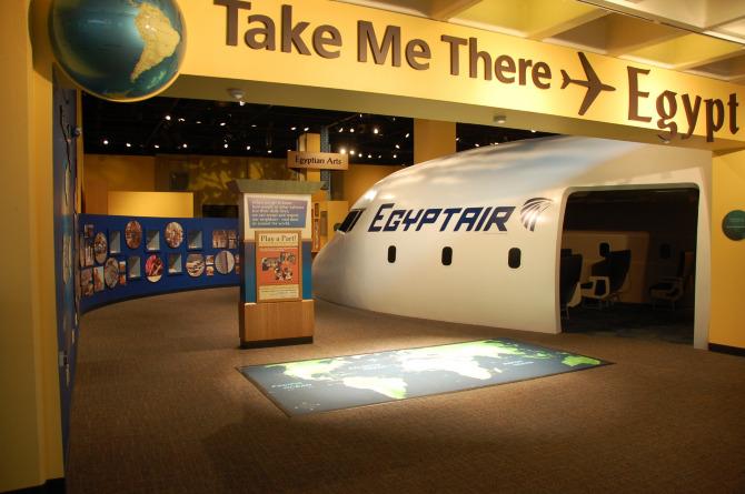 Take Me There: Egypt Exhibit