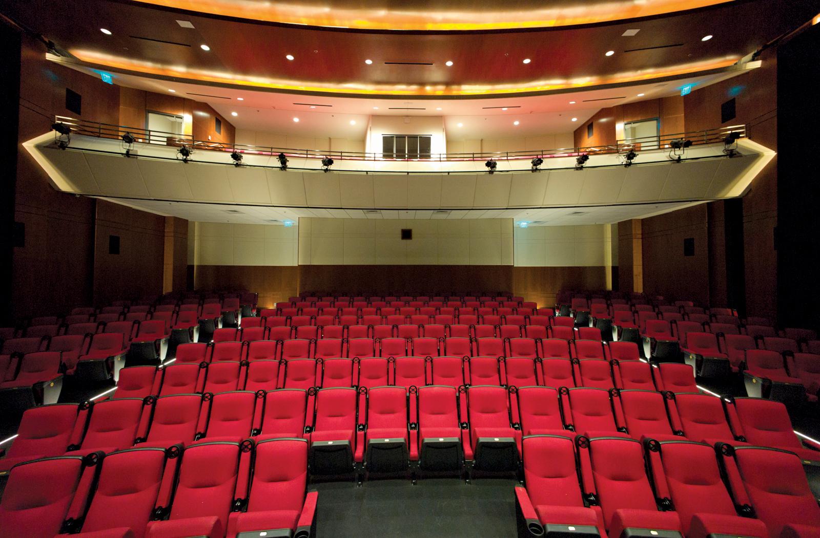 Ron Robinson Theater Auditorium (Photo courtesy of the Ron Robinson Theater)