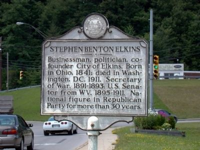 WV Historical Marker--opposite side