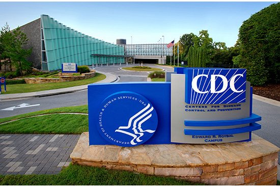 This is the entrance to the Centers for Disease Control and Prevention campus, where the David J. Sencer CDC museum is located. 
