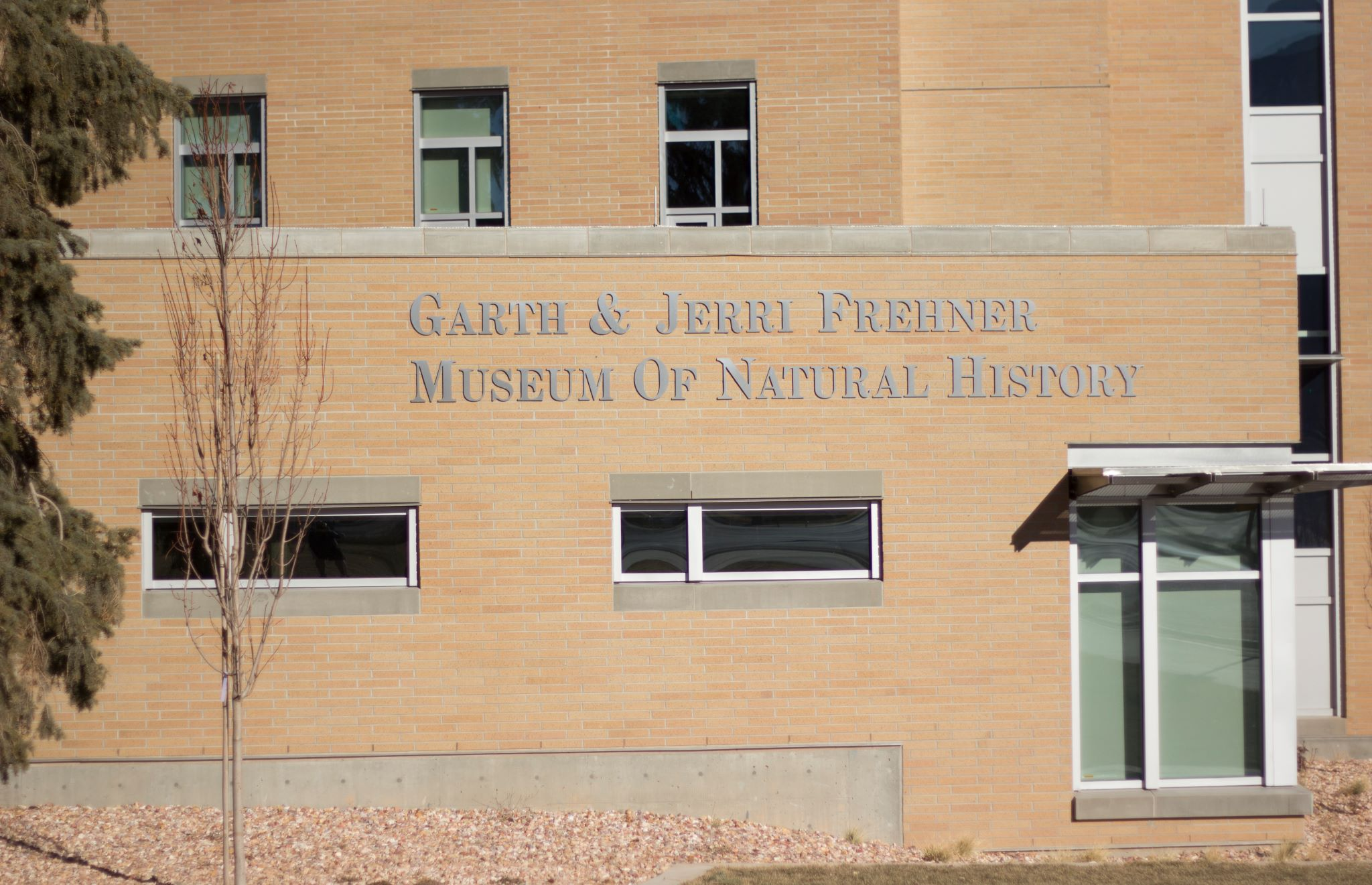 The museum is located on the first floor of the Science Addition Building which is in the southeastern corner of the campus.