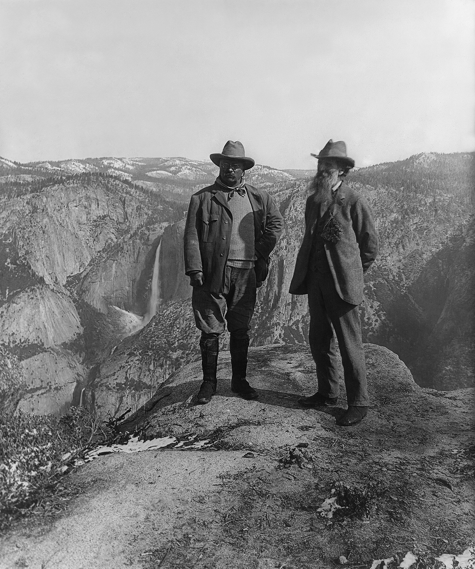 John Muir and President Theodore Roosevelt, 1906