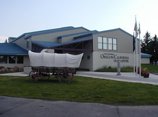 Visitors have the opportunity to join a simulated wagon train headed west, or they can tour the exhibits and art for free.