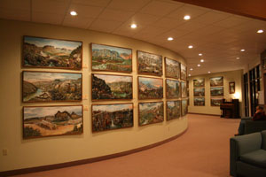 Simplot Art Collection of the Oregon Trail