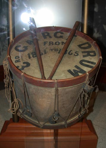 Drum of the 3rd Georgia, Georgia Capitol Museum Hall of Valor