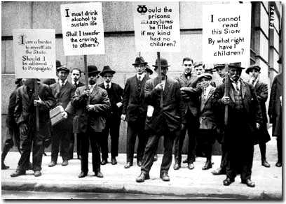 Eugenics supporters in New York City