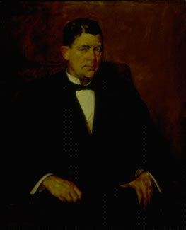 Governor James Frank Hanly, who signed the 1907 bill