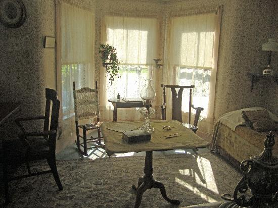 The room in which Calvin Coolidge was sworn in as President of the United States at the home
