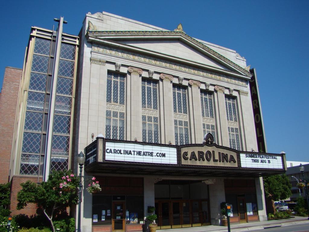 Carolina Theatre Exterior