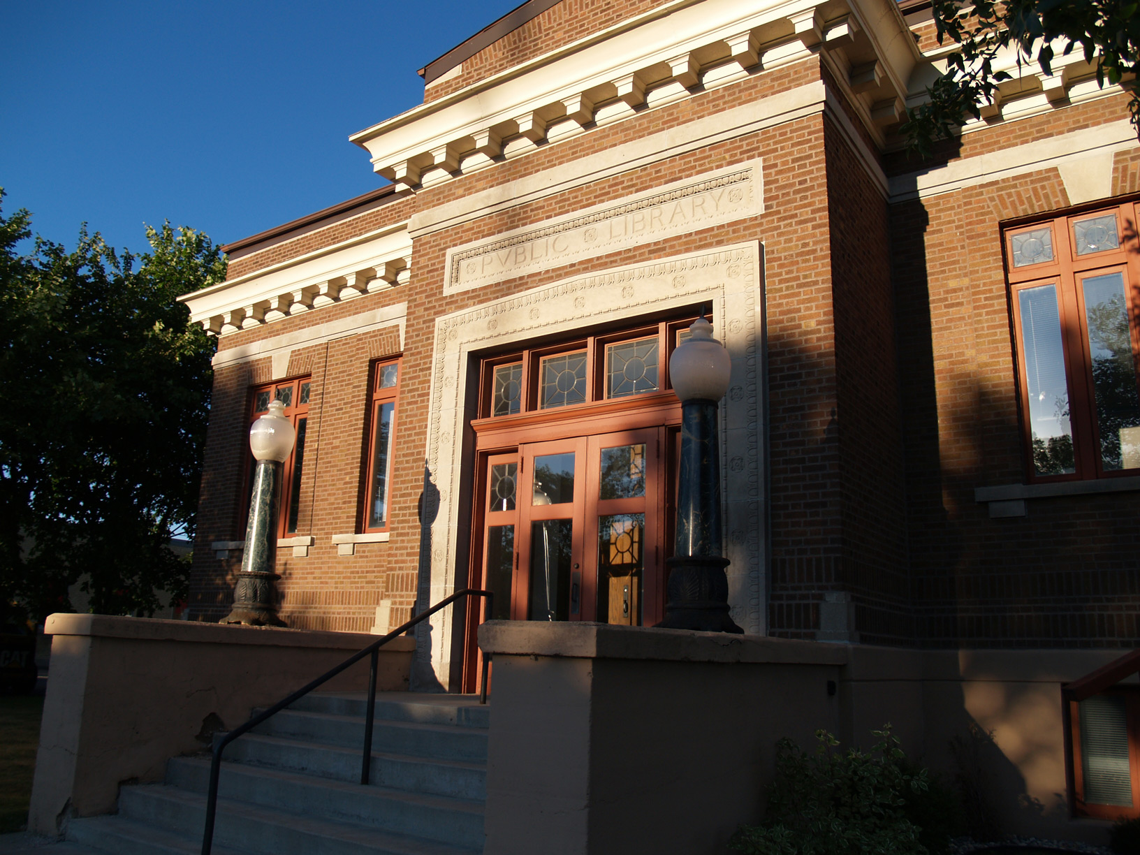 The former Thief River Falls Public Library, recently restored and soon to be opened for community use.