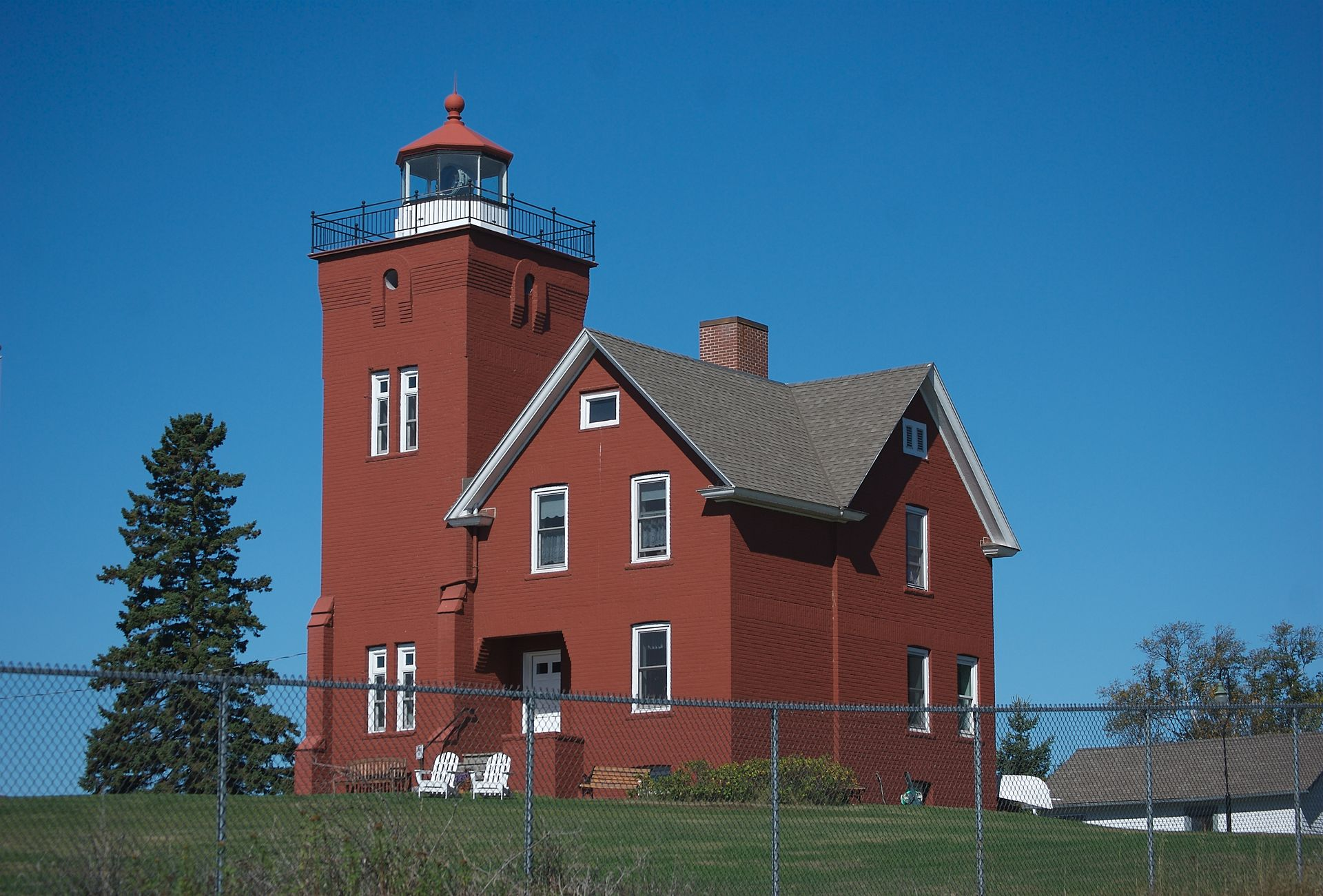 The Two Harbors Light Station