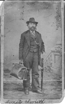 undated photo of Lauritz Smith soon after arriving in America