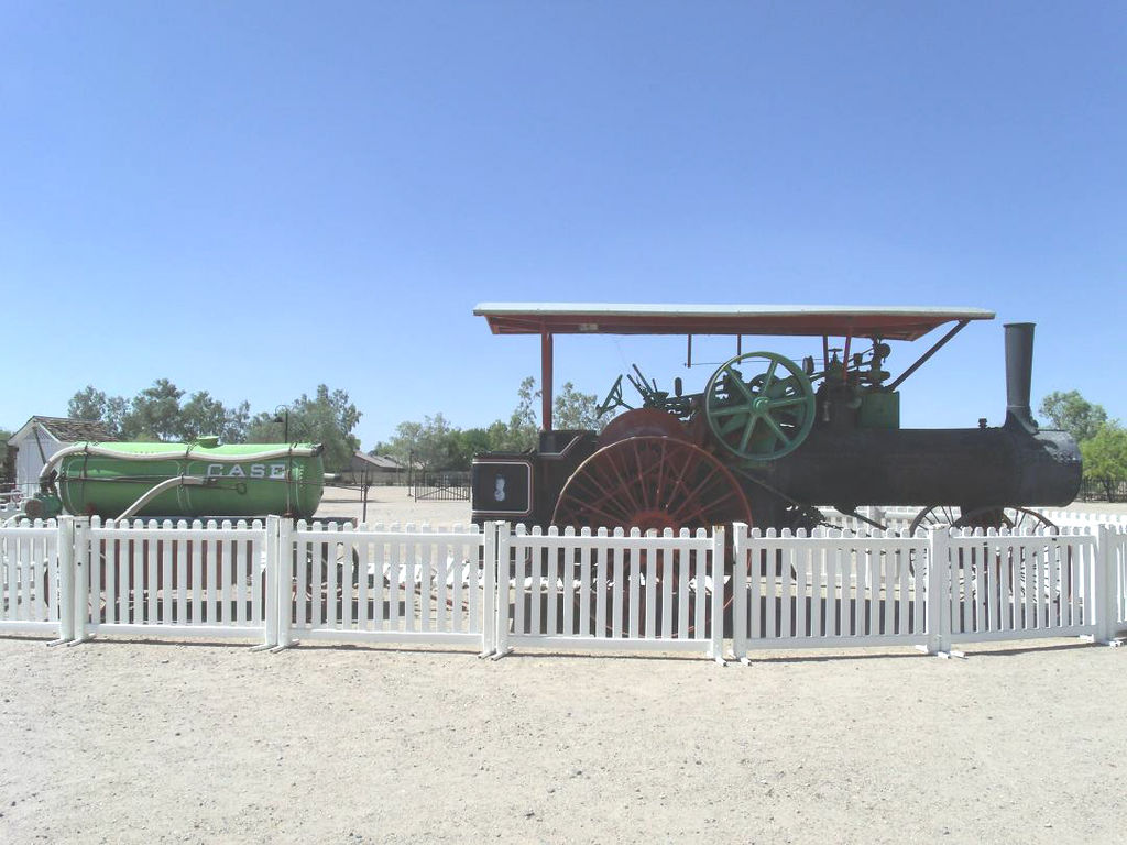 Case Steam Engine used on Ranch