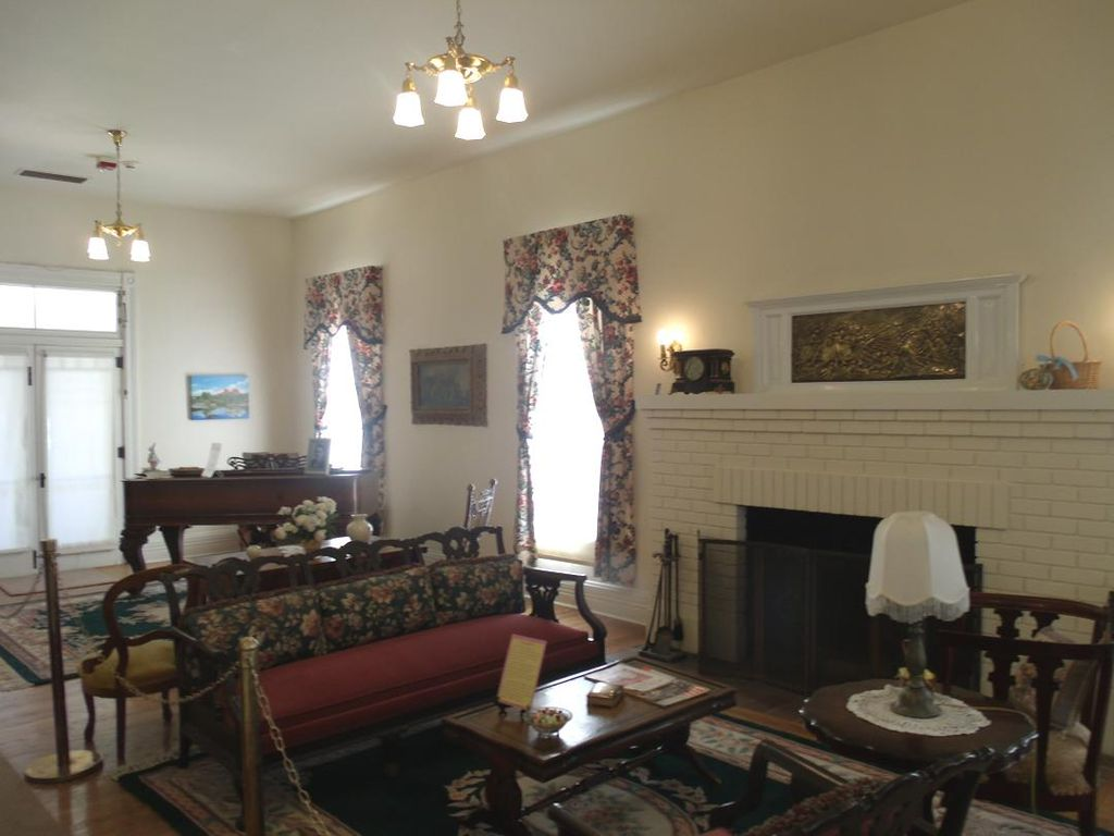 Living Room, first floor of mansion
