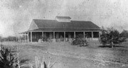 Sahuaro Ranch Fruit Packing House in 1898