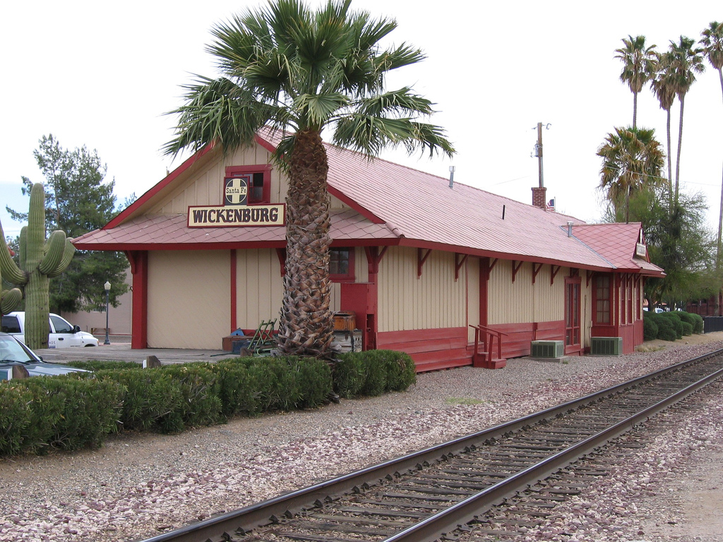 Santa Fe Depot/Chamber of Commerce as it looks today