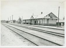 Santa Fe Depot in 1966, three years before the last passenger train came through.